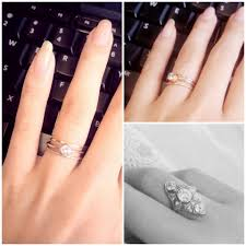how to wear wedding ring set wedding rings redesign wedding ring after proper way to