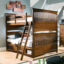 double bunk beds with slide in compelling walker edison twin solid