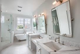 mirrored bathroom accessories bathroom accessories tilt wall mirror bathroom beach style with