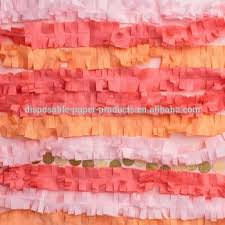tissue paper streamers pink crepe paper streamers crepe paper streamers 4cm 25m backdrop
