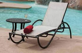 Wrought Iron Chaise Lounge Wrought Iron Chaise Lounge And Table Pool Furniture Outdoor