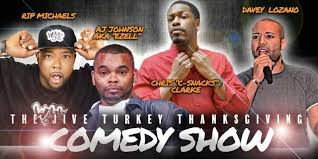 the jive turkey thanksgiving comedy show at crowne plaza