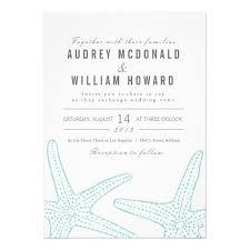 starfish wedding invitations 26 best starfish wedding invitations images on