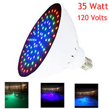 intellibrite landscape lights wyzm 120v 35w color changing led pool light bulb with remote