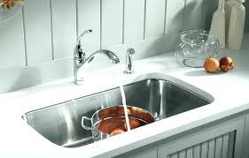 kohler porcelain kitchen sink countertops kohler porcelain double