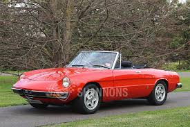 classic alfa romeo spider sold alfa romeo 2000 spider auctions lot 9 shannons