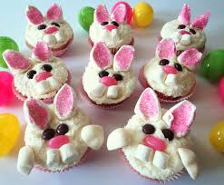 Decorate Easter Bunny Cupcakes by Party Tales April 2011
