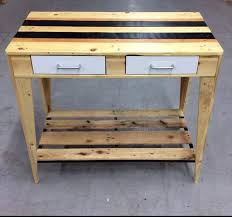 Recycled Wooden Pallet Wonderful Furniture Recycled Things - Kitchen side tables