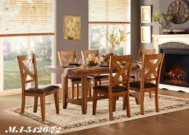 wooden dining room tables and chairs montreal meuble ville