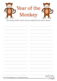 monkey crafts