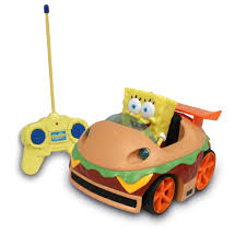 nickelodeon spongebob squarepants r c car krabby patty