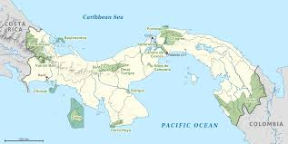 Panama City Map File National Parks Of Panama Map Png Wikimedia Commons