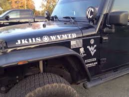 jeep army decals hood decals let see them page 3 jkowners com jeep wrangler