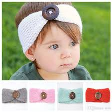 infant hair new button baby crochet headbands headbands autumn winter