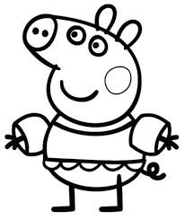 peppa pig colouring colouring pages free coloring pages 20 oct