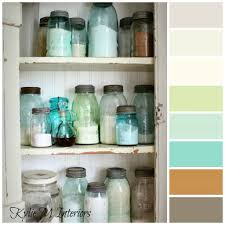 decorating and paint colour ideas for a rustic country or