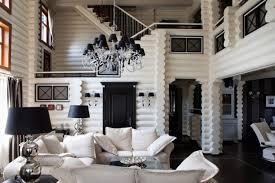 Black And White Interiors Apartments I Like Blog - Black and white family room