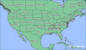 nashville on map where is nashville tn where is nashville tn located in the