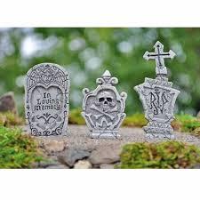 tombstones for fiddlehead fairy garden miniature garden accessories