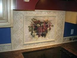 kitchen backsplash tile murals tile kitchen rustic wine mural tiles kitchen tile murals
