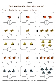 addition worksheets for preschoolers preschool printables