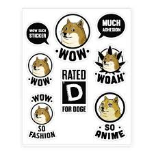 Meme Sticker - meme sticker decal sheets lookhuman