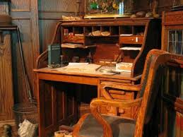 Antique Desk With Hutch Antique Roll Top Desk Lovetoknow