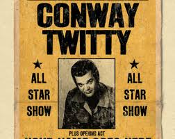 conway twitty etsy