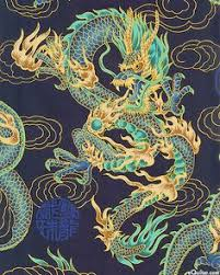 eight headed dragon in waves japanese edo period kitao masayoshi
