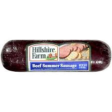hillshire farm summer sausage hillshire farm beef summer sausage 16 oz justdealsstore