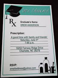 how to make graduation invitations pharmacy graduation party invitations dhavalthakur
