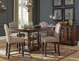 baxenburg counter height dining room set signature design