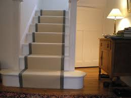 interior simple ceream grey carpet runners for stairs