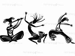tribal dance kit wall stickers vdm1032en artpainting4you eu