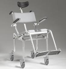 Shower Chair On Wheels Multichair 4000tilt Nuprodx Innovative Products For People With
