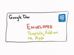 google docs envelope template best business template