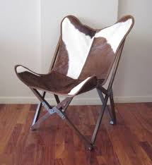Folding Butterfly Chair Bkf Tripo Butterfly Chair In Cowhide And Wood Folding Frame Id