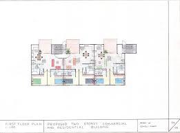 3 Storey Commercial Building Floor Plan Two Storey Commercial And Residential Building My Assessment 3
