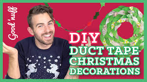 easy diy duct tape christmas decorations youtube