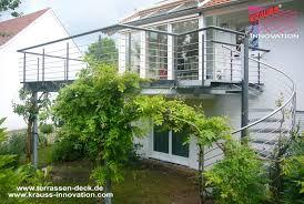 balkon und terrasse balkon terrassen deck mit wendeltreppe direkt vom hersteller