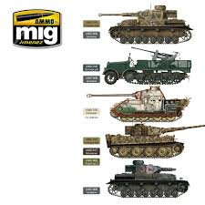 early middle german colors set ammo of mig jimenez