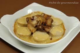 cuisiner le boudin blanc cassolettes de cèpes et boudins blancs sauce foie gras péché de