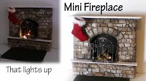 miniature fireplace tutorial polymer clay u0026 mixed media youtube