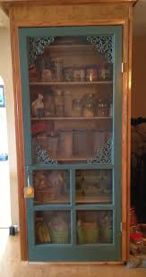 old screen door turned pantry this is what i wanted to do with my