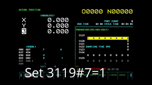 fanuc 16i 18i 21i 0i changing screen display youtube