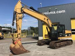 excavator on tracks caterpillar 323d l smitma