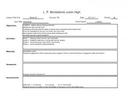 download free weekly lesson plan template lots of common sample