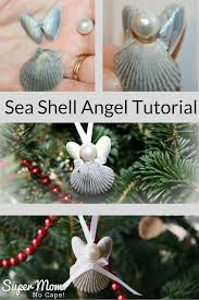 sea shell angel tutorial click thru for the step by step