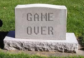 Game Over Meme - tombstone game over meme generator imgflip