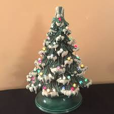 ceramic light up christmas tree collection of ceramic christmas trees on ebay christmas tree